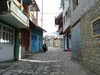 Lahic / Lahij, Ismailly Rayon, Azerbaijan: tourism brought the village neat and tidy streets - photo by F.MacLachlan
