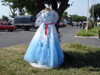 Qabala, Azerbaijan: the bazaar - you can buy all sorts of things - wedding dress - F.MacLachlan