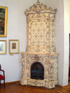 Baku, Azerbaijan: National gallery - arts museum - old stove - photo by G.Monssen
