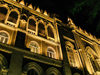 Baku, Azerbaijan: Presidium of the Academy of Sciences - Ismailia palace - nocturnal - photo by N.Mahmudova