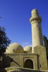 Azerbaijan - Baku: Royal Mosque at the Shirvan Shah's palace - UNESCO world heritage - old city - photo by M.Torres