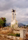 Azerbaijan - Agdam: ruins in the ghost town - war damage (photo by Miguel Torres)