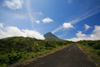 Azores / Açores - Pico - Ponta do Pico - Pico mountain: road - photo by A.Dnieprowsky