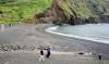 Azores / Açores - Mosteiros: beach - praia - photo by A.Dnieprowsky