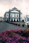 Azores / A�ores - Ribeira Grande: Teatro Municipal /  the theatre - photo by M.Durruti