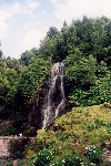 Azores / Açores - Achada: cascata - planalto dos Graminhais / waterfall on the Graminhais plateau - photo by M.Durruti