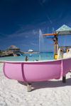 36 Bahamas - Half Moon Cay - Children's playground at Half Moon Cay, Bahamas beach (photo by David Smith)