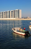 Manama, Bahrain: Reef Island, Porta Reef developent - view from the fishing harbour - photo by M.Torres