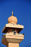 Arad, Muharraq Island, Bahrain: minaret of Kano mosque - Avenue 40 - photo by M.Torres