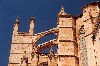 Majorca / Mallorca / Maiorca / PMI: Palma de Mallorca - the Cathedral - pinnacles and flying buttresses (photographer: Miguel Torres)