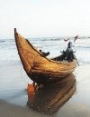 Cox Bazar: fishing boat (photo by Galen Frysinger)