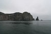 Bear Island / Bj�rn�ya, Svalbard: scarps by the Barents Sea - photo by R.Behlke