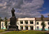 Belarus - Mogilev - Lenin and Culture house - photo by A.Dnieprowsky