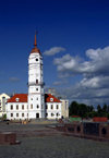 Mogilev, Mahilyow Voblast, Belarus: the 'Ratusha', the old town hall has been restored - photo by A.Dnieprowsky