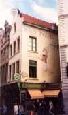 Belgium - Brussels: old bookshop - Minet Freres, Livres Anciens (photo by M.Torres)