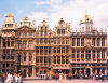 Belgium - Brussels: Grote Markt - Guild houses - Unesco world heritage site (photo by M.Torres)