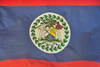 Belize City, Belize: Belizean flag - photo by M.Torres