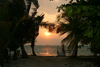 Belize - Caye Caulker: awating dock -sunset - photo by C.Palacio