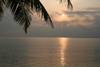 Belize - Seine Bight: morning peep - sunrise - photo by Charles Palacio