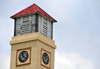 San Ignacio, Cayo, Belize: clock tower at the District Commissioner - photo by M.Torres