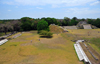 Altun Ha Maya city, Belize District, Belize: view of Plazas A an B from the top of the Temple of the Masonry Altars - Mesoamerican archaeological site near Rockstone Pond village comprising over 500 structures - photo by M.Torres