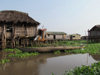 Ganvie, Benin: this Tofinu lacustrian village emerged as protection against slave taking raids by the rival Fon warriors, whose beliefs made them afraid of the water - photo by G.Frysinger