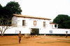 Ouidah / Oudah, Benin / Benim: the history museum - at the Portuguese fort of S�o Jo�o Baptista de Ajud� - photo by B.Cloutier