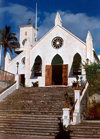 Bermuda - St. George: St Peter's Church, the oldest continually used Anglican church in the Western hemisphere - Historic Town of St George - Unesco world heritage site - photo by G.Frysinger