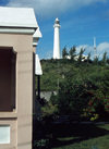 Bermuda - Bermuda - Southampton: Gibb's Hill lighthouse - oldest cast iron lighthouse in the world - photo by G.Frysinger