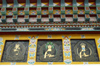 Bhutan - Thimphu - Buddhist symbols and figures, in the National Memorial Chorten - photo by A.Ferrari