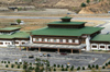 Bhutan - Paro: main building of Paro airport - PBH - landside - photo by A.Ferrari