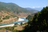Bhutan - Punakha valley - river - photo by A.Ferrari