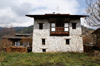 Bhutan - Ura village - Bhutanese house - photo by A.Ferrari