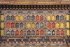 Bhutan, Paro: Detail Paro Dzong - decoration - photo by J.Pemberton