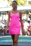 Florida - Miami Beach: Clevelander's pool side fashion show (photo by C.Blam)