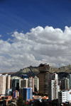 La Paz, Bolivia: tall buildings in the Sopocachi area - Americas tower - photo by M.Torres