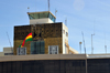 El Alto, La Paz department, Bolivia: La Paz El Alto International Airport - LPB - control tower and terminal building - operated by Abertis airports - La Paz is the highest capital city in the world - photo by M.Torres
