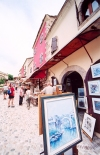 Bosnia-Herzegovina - Mostar: milking the tourists (photo by M.Torres)