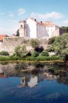 Trebinje (Republika Srpska): reflections on the Trebisnjica river (photo by M.Torres)