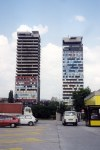Bosnia-Herzegovina - Sarajevo: twin towers (photo by M.Torres)