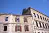 Bosnia - Mostar: building damaged by bombing (photo by J.Kaman)