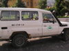 Vehicle of demining team - mine action team (photo by J.Kaman)