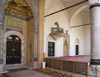 Bosnia-Herzegovina - Sarajevo:  entrance to the Gazi Husrev Bey Mosque - Begova dzamija (photo by J.Kaman)