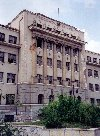 Bosnia-Herzegovina - Sarajevo: the technical school - Srednja Tehnicka Skola (photo by M.Torres)