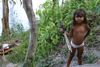 Brazil / Brasil - Urubu river: indian girl - garota Aruaque (photo by N.Cabana)
