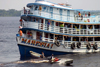 Brazil / Brasil - Manaus: ferry on the Amazonas - the Maresia - Barcos Regionais (photo by N.Cabana)