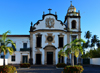Olinda, Pernambuco, Brazil: Church and Monastery of St Benedict, XVIII century baroque architecture by  Francisco Nunes Soares - Mosteiro de São Bento - Portuguese baroque - Historic Centre of the Town of Olinda, UNESCO World Heritage Site - photo by M.Torres