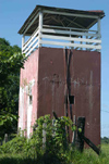 Brazil / Brasil - Porto Acre: watch tower / torre de vigia (photo by Marta Alves)
