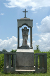 Brazil / Brasil - Porto Acre: Seringal Bom Destino - former rubber plantation - angel / anjo - capela de ferro (photo by Marta Alves)