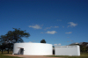 Brazil / Brasil - Brasilia: Oscar Niemeyer space / espa�o Oscar Niemeyer - Pra�a dos Tr�s Poderes - photo by M.Alves